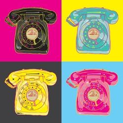 - Ahizeli Telefonlar Kanvas Tablo