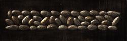 - Altın-Gümüş Çakıllar Kabartmalı Tablo