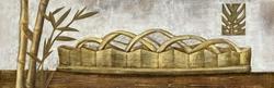 - Altın Sepet ve Dallar Kabartmalı Tablo
