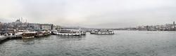 - Balık Gözü Çekim İstanbul Kanvas Tablo