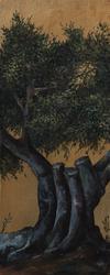 - Budanmış Ağaç Kabartmalı Tablo