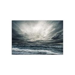 - Bulutlar ve Dalgalar Kanvas Tablo