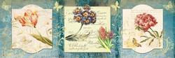 - Çiçek Aranjmanı Kanvas Tablo