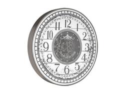 - Desenli Yuvarlak Gümüş Çarklı Saat çap 80cm