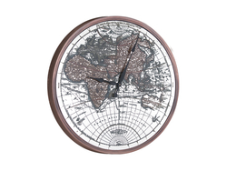 - Dünya Desenli Saat çap 80cm