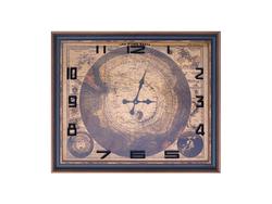 - Dünya Haritası Saat 75x90cm