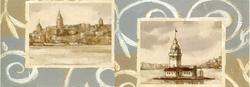 - Eski İstanbul Kanvas Tablo
