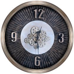 - Eskitme Altın Çarklı Saat çap 80cm