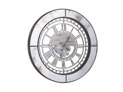 - Eskitme Aynalı Çarklı Saat çap 90cm