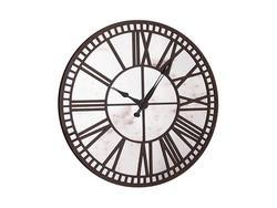 - Eskitme Aynalı Yuvarlak Saat çap 90cm