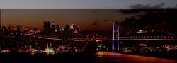 - Gece Vakti İstanbul Kanvas Tablo