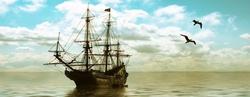 - Gemi Kanvas Tablo