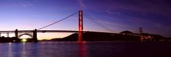 - Golden Gate Kanvas Tablo