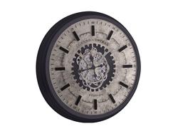 - Grand Central Gümüş Çarklı Saat Çap 80cm