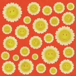 - Gülümseyen Güneşler Kanvas Tablo
