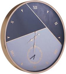 - Gümüş beyaz Desenli Duvar Saati çao 80cm