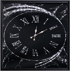 - Hologramlı Siyah Saat 83x83cm