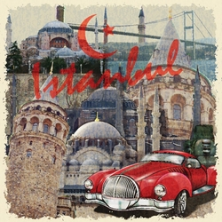 - İstanbul Kanvas Tablo