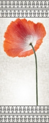 - Kırmızı Çiçek Kanvas Tablo
