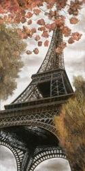 - Kırmızı Çiçekler ve Eiffel Kabartmalı Tablo