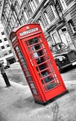 - Kırmızı Telefon Kulübesi Kanvas Tablo -3
