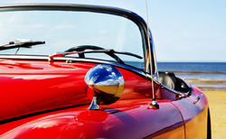 - Klasik Arabalar Kanvas Tablo