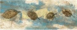 - Kurumuş Yapraklar Kanvas Tablo