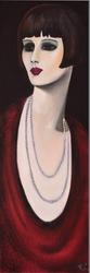 - Küt Saçlı Kadın Kabartmalı Tablo