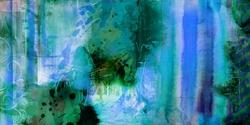- Mavi Ağırlıklı Soyut Kanvas Tablo