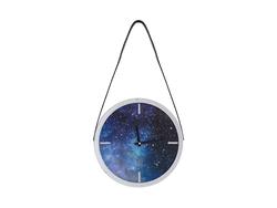 - Mavi Uzay Gümüş Saat çap 38cm