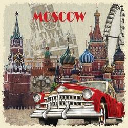 - Moscow Kanvas Tablo