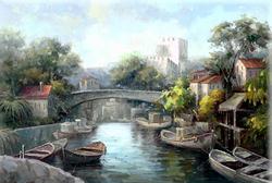 - Mostar Köprüsü Kabartmalı Tablo