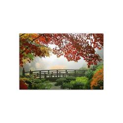 - Ormanda Köprü Kanvas Tablo