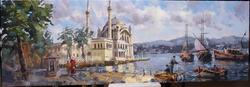 - Ortaköy Meydanı Kanvas Tablo