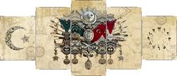 - Osmanlı Beş Parçalı Kanvas Tablo