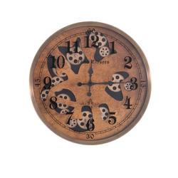 Özel Desenli Çarklı Saat çap 60cm - Thumbnail