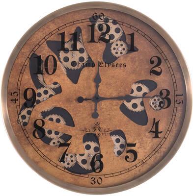 Özel Desenli Çarklı Saat çap 60cm