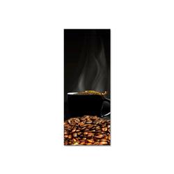 - Pişen Kahve Çekirdekleri Kanvas Tablo