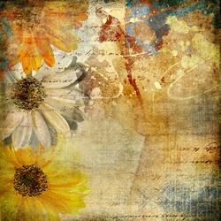 - Renkli Çiçek Kanvas Tablo