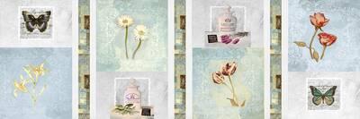 Renkli Çiçekler Kanvas Tablo
