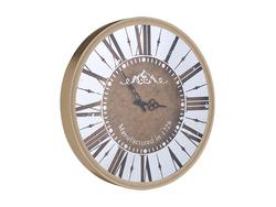- Roman Rakamlı Yuvarlak Gold Saat çap 50cm