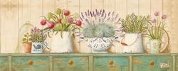 - Saksıda Bitkiler Kanvas Tablo
