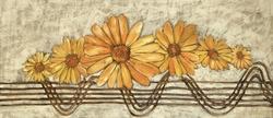 - Sarı Papatyalar Kanvas Tablo