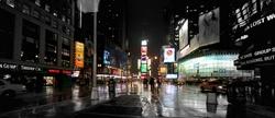 - Siyah Beyaz Times Square Kanvas Tablo