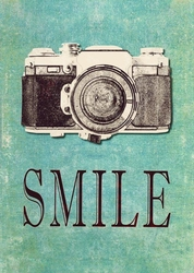 - Smile Ahşap Tablo