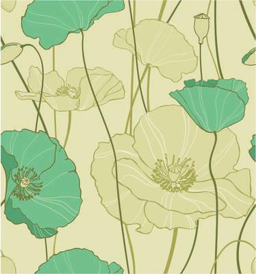 Soyut Çiçek Kanvas Tablo