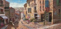 - Taş Binalı Sokak Kabartmalı Tablo