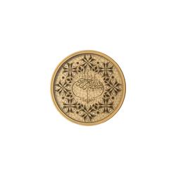 - Taş İşlemeli Çember Tablo Çap 50cm
