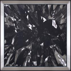 - Kristal Tablo 87x87cm