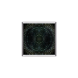 - Hologramlı Yeşil Tablo 84x84cm